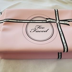 NWT Too Faced Large Cosmetic Bag